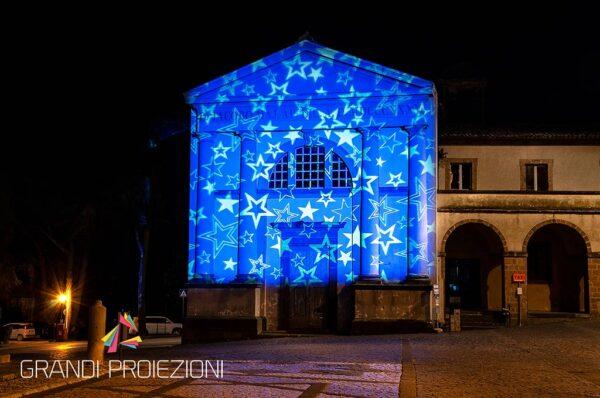 Proiezioni Natalizie Chiesa San Giacomo Orvieto