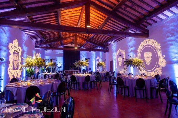 Proiezione Personalizzata Villa Vistarenni