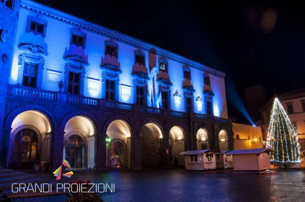Illuminazione Architettonica Municipio Orvieto