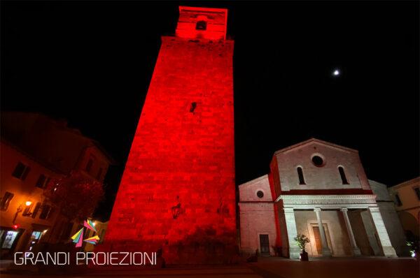 Illuminazione Architetturale Torre Chiusi Chianciano Terme