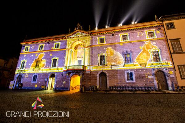 Proiezione Palazzo Opera del Duomo Orvieto