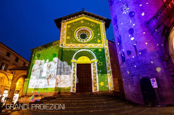 Proiezione Piazza della Repubblica Orvieto