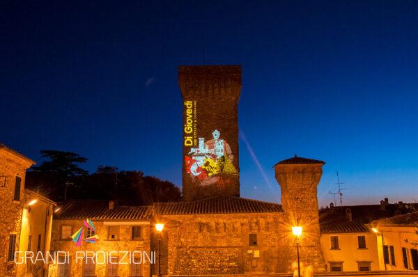 Proiezione Mapping Lucignano