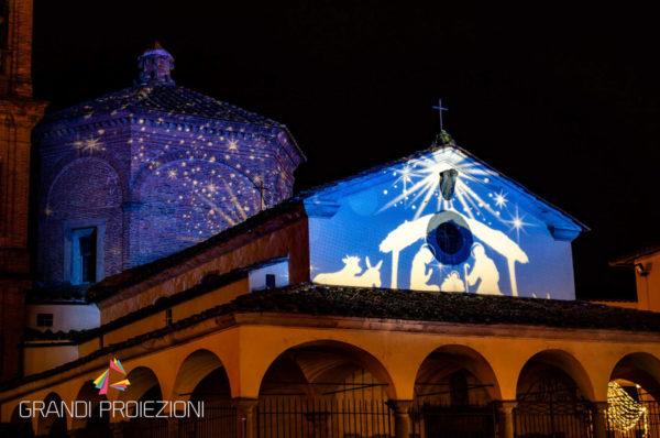 Empoli, città del Natale 2018, proiezione natalizia