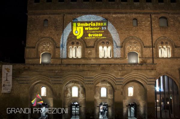 Promo per UmbriaJazz Palazzo del Popolo, Orvieto