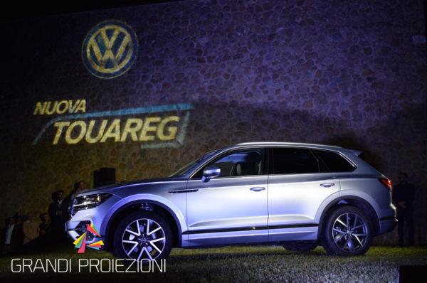 Presentazione Volkswagen Touareg, Montepulciano