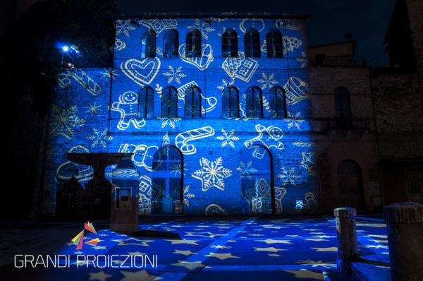Proiezione di fantasia a tema natalizio, Castelnuovo Berardenga