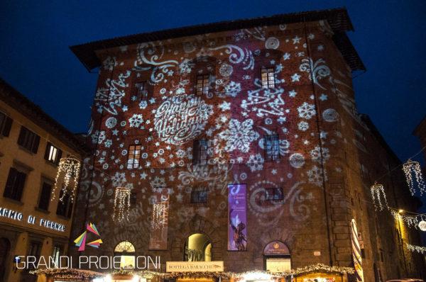 Proiezione di fantasia a tema natalizio, Cortona