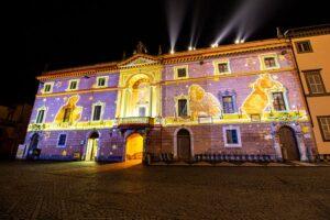 illuminazione architettonica anno dantesco orvieto